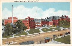 Jewish Hospital of Cincinnati, Ohio Postcard
