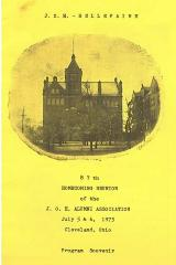 Program Souvenir of the JOH – Bellefaire 87th Homecoming Reunion of the JOH Alumni Association
