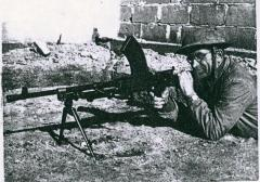 Paul Herman with the Haganah in Israel