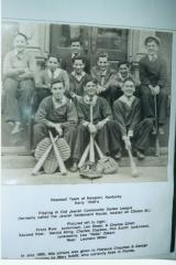 1930's Photograph of a Team who Played in the Old Jewish Community Center's Baseball League (Newport, KY)