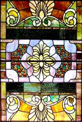 Stained Glass Ventilator Windows from Washington Avenue Temple (Evansville, IN).