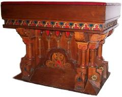 19th Century Torah Reading Table from Bet Tefillah Synagogue (Cincinnati, Oh)