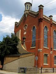 Photographs of the John and Bauer Av. Location of the Congregation Brotherly Love / Ahavat Achim (Cincinnati, Ohio)
