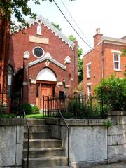 Photographs of the Clark Street Location of the West End Orthodox Synagogue (Anshe Sholom) of Cincinnati, Ohio