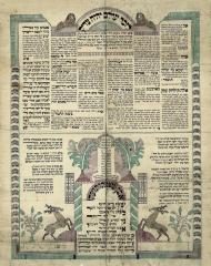 Lezecher Olam Yihyeh Tzaddik – Memorial Tablet for Rabbi Shachna Isaacs of Cincinnati, Ohio