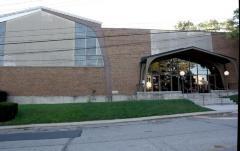 Photos of the Exterior of Golf Manor Synagogue (Cincinnati, OH)