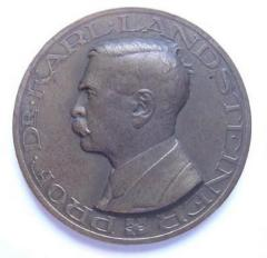 "Dr. Karl Landsteiner ""Father of Blood Groups"" Medal"