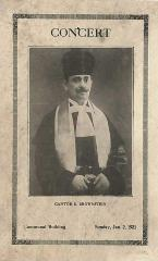 Cantor S. Brownstein Concert at Adath Israel Congregation (Cincinnati, OH)