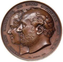 Sir Moses and Lady Judith Montefiore Jewish Emancipation Medal