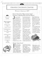Greater Cincinnati Chapter Woman's American ORT Volume 1, Issue 3 Jan/Feb.