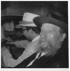 Photograph of Rabbi, 1965