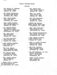 Miami University Hillel Advisory Board, 1973-1974