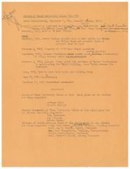 History of the Miami University Hillel 1944 - 1973, Draft