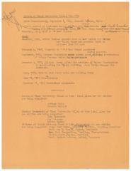 History of the Miami University Hillel 1944 - 1973, Draft