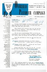 "Agudath Israel of America (New York, New York) - Letter of Solicitation for the ""Overseas Passover Campaign,"" 1974"