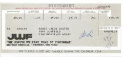 Cincinnati Jewish Welfare Fund (Cincinnati, OH) - Statement for 1970 Annual Pledge
