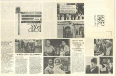 Flyer for Boro Park Historical Society dating to 1983