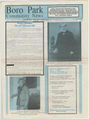 Boro Park News Newspaper dated November 2007