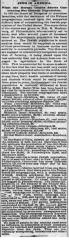 Article Regarding Jewish Population of Cincinnati, Ohio Based on 1875 Census