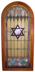1947 Stained Glass Door
