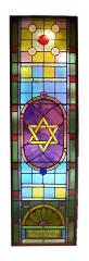 1925 Stained Glass Window