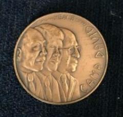 Camp David Meeting Medal