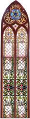 19th Century Stained Glass Window from Mound Street Temple (Cincinnati, OH)