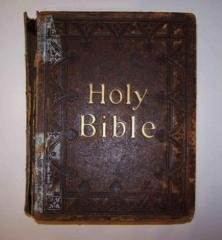 Holy Bible with Psalter