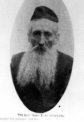 Picture of Rabbi Eliyahu Hillkowitz, former Chief Rabbi of Cincinnati's Orthodox Community and Rav of the Schachnus Shule /Beth Tefyla [Tefillah] Congregation