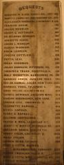 Marble Bequest Board from Hebrew Union College