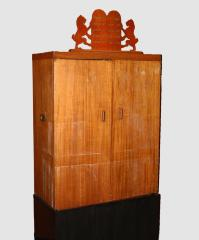 World War II U.S. Army Portable Torah Ark used in the European Theater