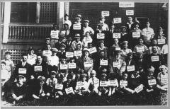 Class Photo of Yeshiva Etz Chaim, Cincinnati, Ohio