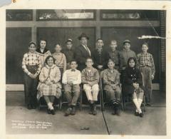 Chofetz Chaim Day School (kna Cincinnati Hebrew Day School) 1960 6th Grade Class Picture