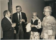 Photograph of Participants at the Arthur Beerman Center Dedication Ceremony, 1974