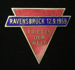 Ravensbruck 1959 Peace of the World Pin
