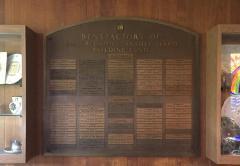 Congregation Anshei Sfard's (Louisville, KY) Benefactors of the Building Fund Plaque for the Dutchman's Lane Location