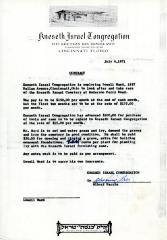 Contract for hiring Lowell Ward, July 6, 1971