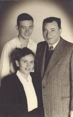 Henry Fenichel, Paula Sporn and Abraham Sporn