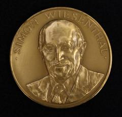 United States Congressional Gold Medal in Honor of Simon Wiesenthal - 1980