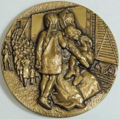 Remember - Holocaust Medal