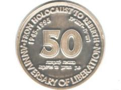 Australian Medal Commemorating the 50th Anniversary of the Liberation of the Concentration Camps