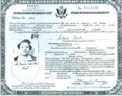 United States Certificate of Naturalization