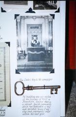 """Photo of """"The Cantor key to the synagogue"""""""