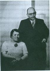 Photo Selma and Hugo Adler 1938