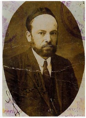 Picture of Samuel Fischer from his Passport