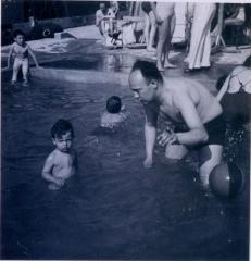 Photo of Boy in Pool (Blumenstein)