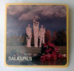 Salaspils Concentration Camp Survivor & Commemorative Pin