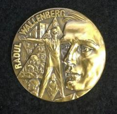Raoul Wallenberg Medal Issued by the Judaic Heritage Society
