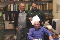 Henry Fenichel with Professors Orchin and Jensen