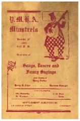 YMHA [Young Men's Hebrew Association] of Cincinnati Minstrels - Songs, Dances, and Funny Sayings